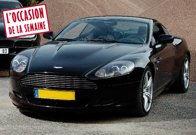 une aston martin db9 frais r duits le magazine des ench res. Black Bedroom Furniture Sets. Home Design Ideas