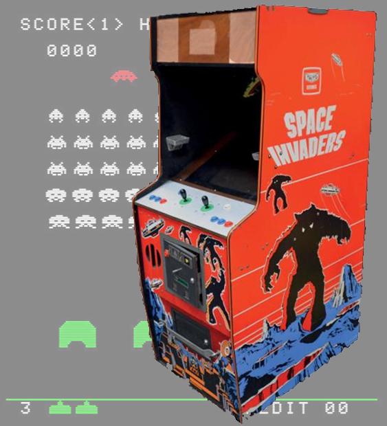 borne arcade space invaders occasion