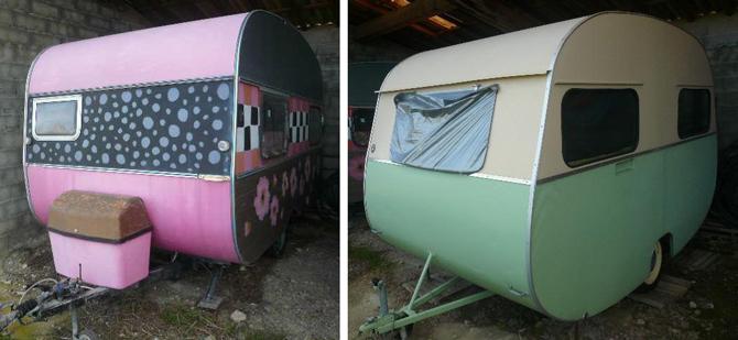 Caravanes rétro pour voyage vintage... | Le magazine des enchères