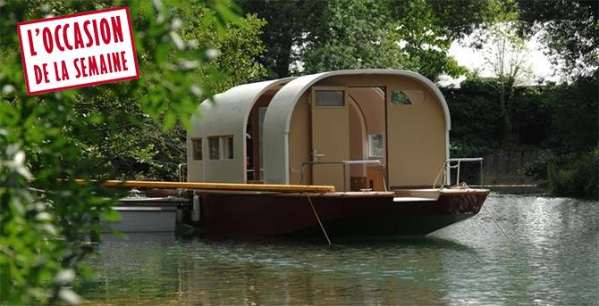 bateau fluvial occasion